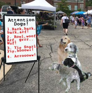 Farmers market animal control rules would be more effective directed to dogs, not Giants.